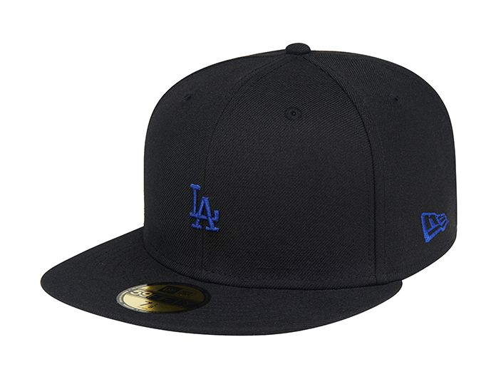 Los Angeles Dodgers Mini Team 59fifty Fitted Baseball Cap By New Era X Mlb Fitted Baseball Caps Dodgers Gear Baseball Cap