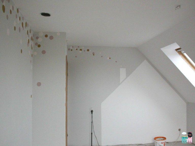 chellisrainbowroom teil 1 die renovierung alpina feine farbe hausbett kinder zimmer und. Black Bedroom Furniture Sets. Home Design Ideas