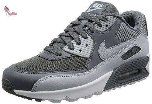 newest cdb96 0904d Nike Air Max 90 Essential, Chaussures de Course Homme, Multicolore (Cool  GreyWolf GreyPure PlatinumWhite), 42.5 EU - Chaussures nike  (Partner-Link)