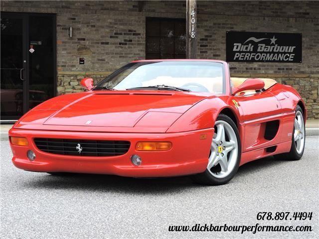 Nice Amazing 1997 Ferrari F355 Spider -- 1997 Ferrari F355 Spider