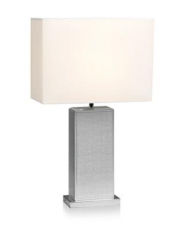 52% OFF Mercana Talin Table Lamp, Silver/Natural