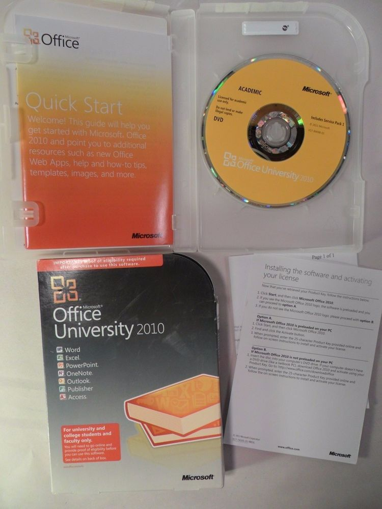Microsoft Office University 2010 With