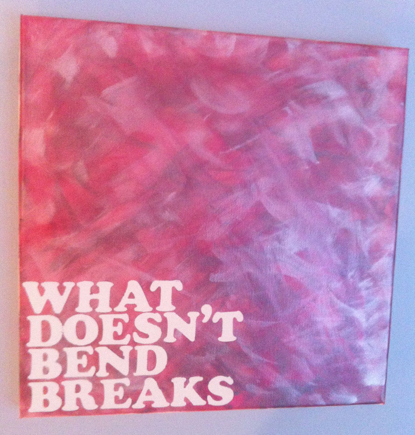 Romantic Quotes Ani: Ani DiFranco Lyric/Quote Acrylic Painting On Canvas 12 X