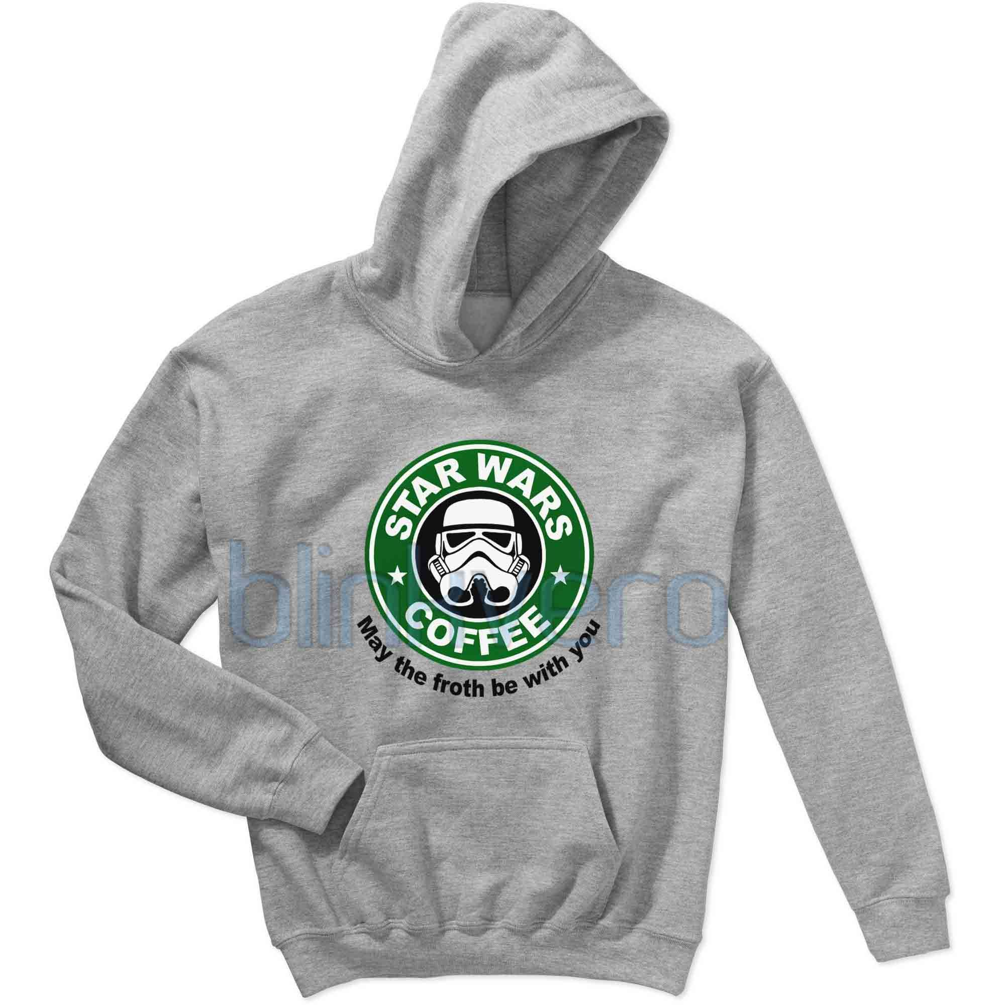 Star wars starbuck hoodie girls and mens hoodies christmas t shirt tshirt