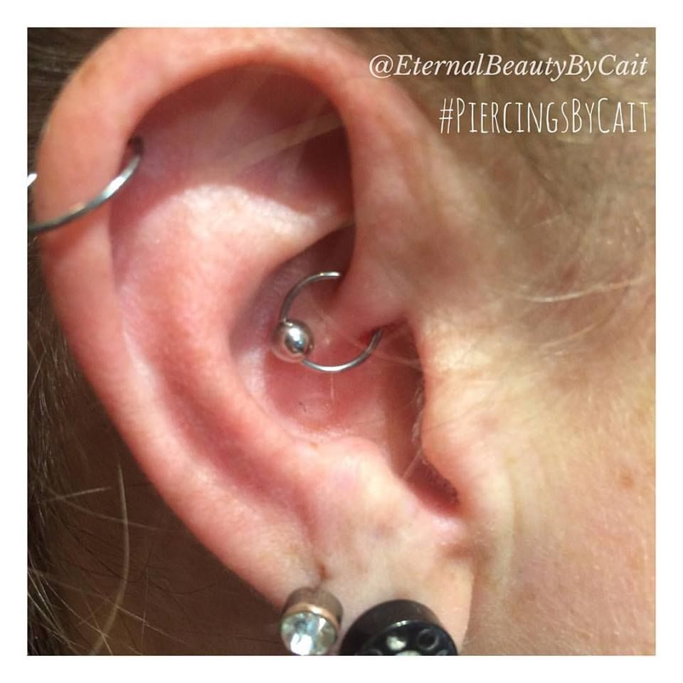 Daith Piercing By Eternal Beauty By Cait Daith Piercing