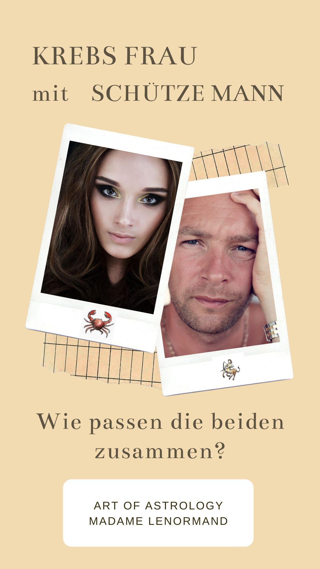 Krebs Frau & Schütze Mann | Schütze mann, Schütze