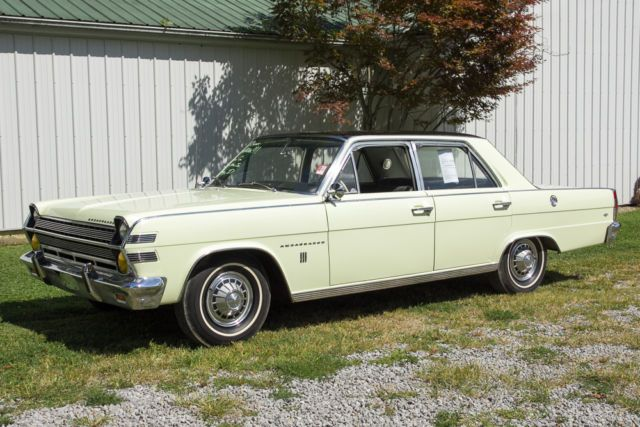 1966 Amc Ambassador 990 4 Door Sedan American Motors Amc