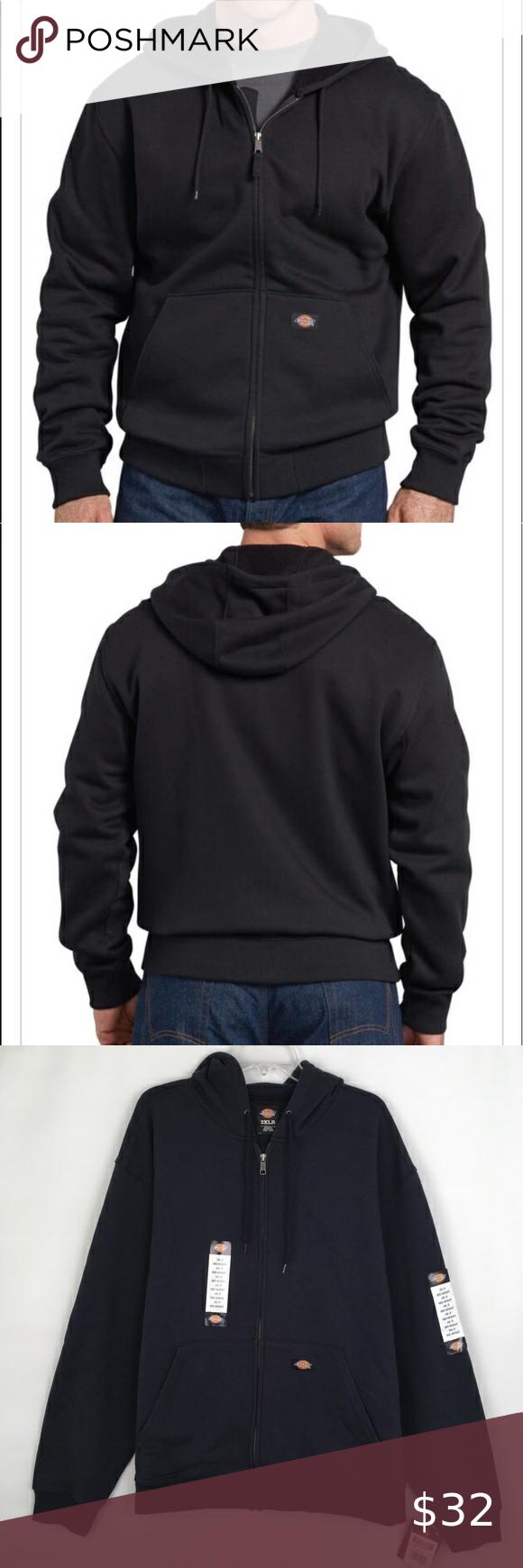 Dickies Full Zip Hoodie Mid Weight Work Fleece 3xl Full Zip Hoodie Hoodies Zip Hoodie [ 1740 x 580 Pixel ]