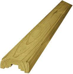 Best Ac2® 2 X 4 X 12 Treated Handrail Wood Railing Building 400 x 300