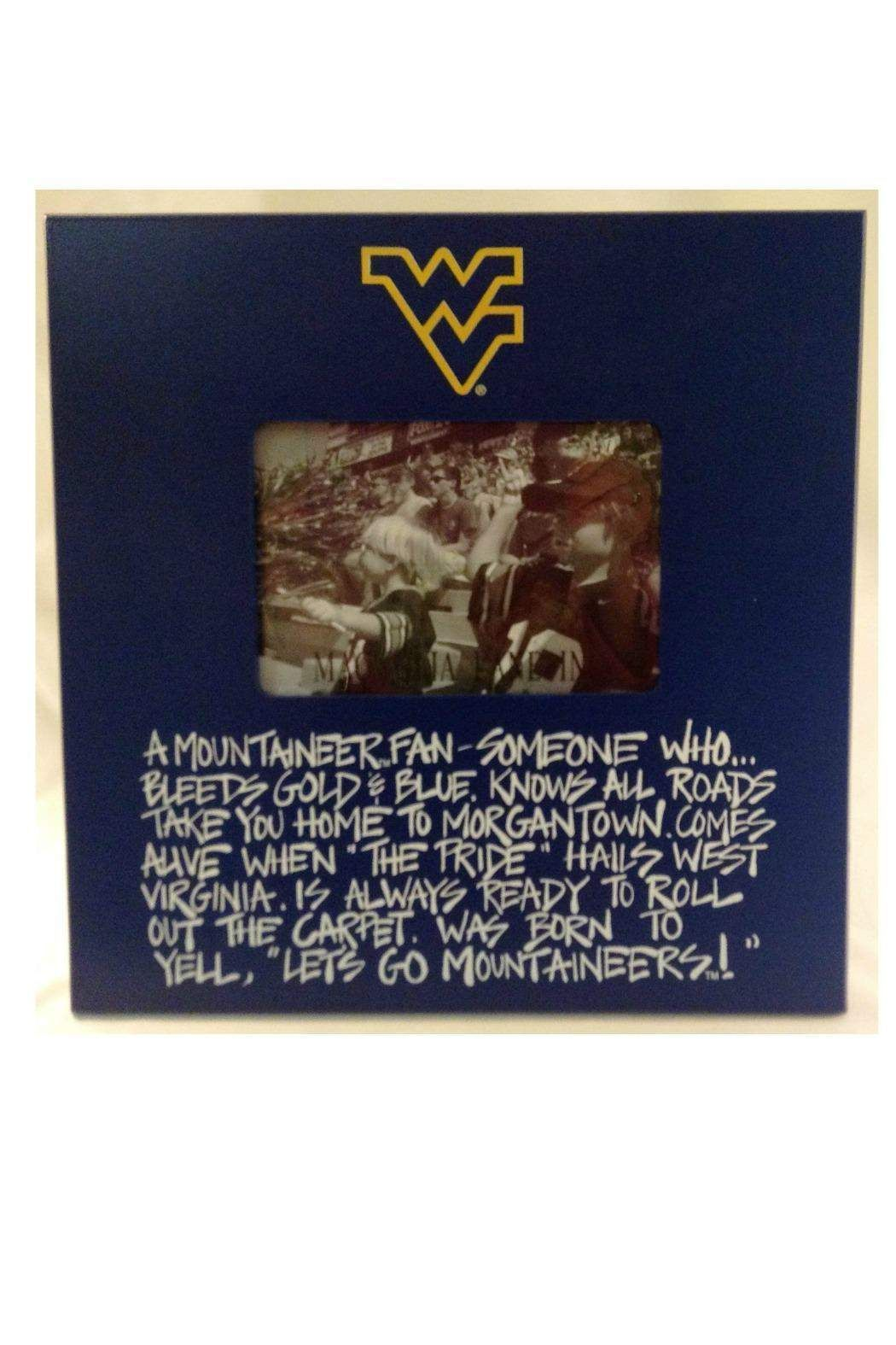 WVU Definition Frame By Magnolia Lane Collection Home Gifts