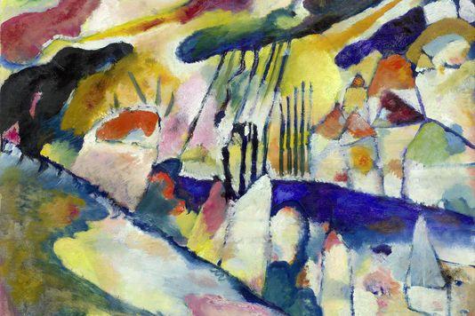 La Parade Du Cavalier Bleu Art Kandinsky Peinture Kandinsky Les Arts