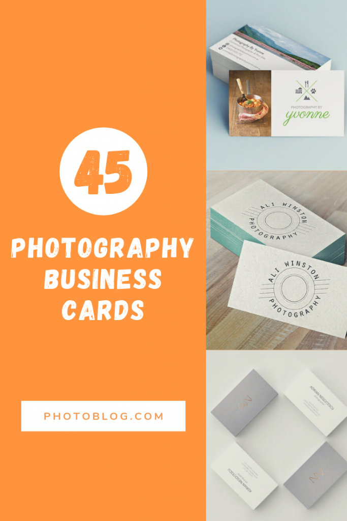 45 Best Free Photography Business Cards To Make An Impression Photography Business Cards Photography Business Business Card Maker