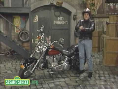 Sesame Street: Jay Leno Prepares for a Ride - YouTube