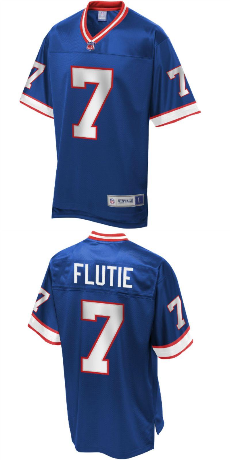 competitive price f1b4c 946f4 Doug Flutie Buffalo Bills NFL Pro Line Retired Player Jersey ...