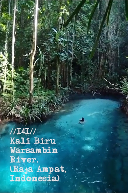 Stunning turquoise river doesnt need an Instagram filter – but where is it?