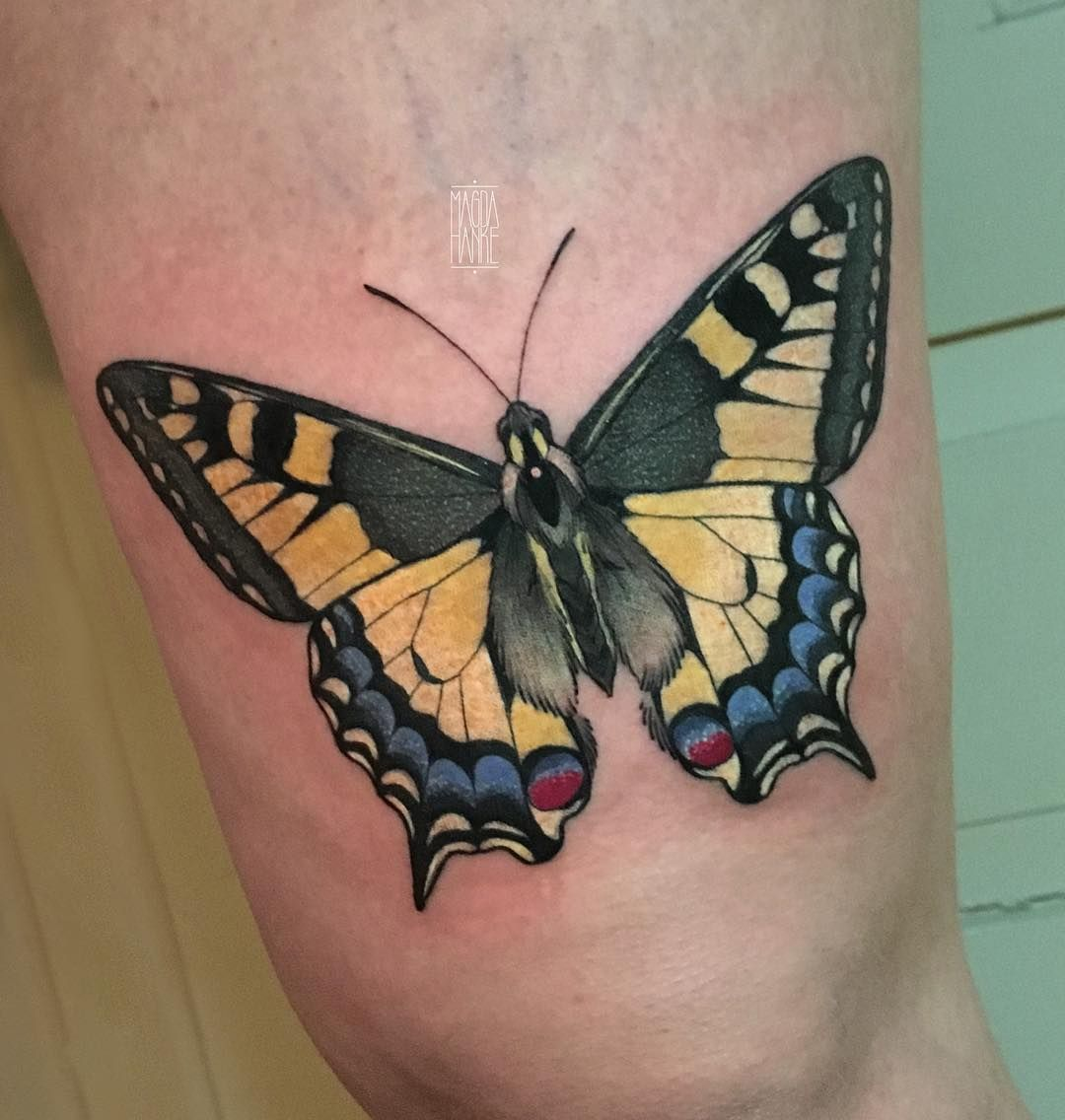Butterfly Neo Traditional Tattoo Tattoo Ideas And Inspiration Magda Hanke Monarch Tattoo Neo Traditional Tattoo Butterfly Tattoo