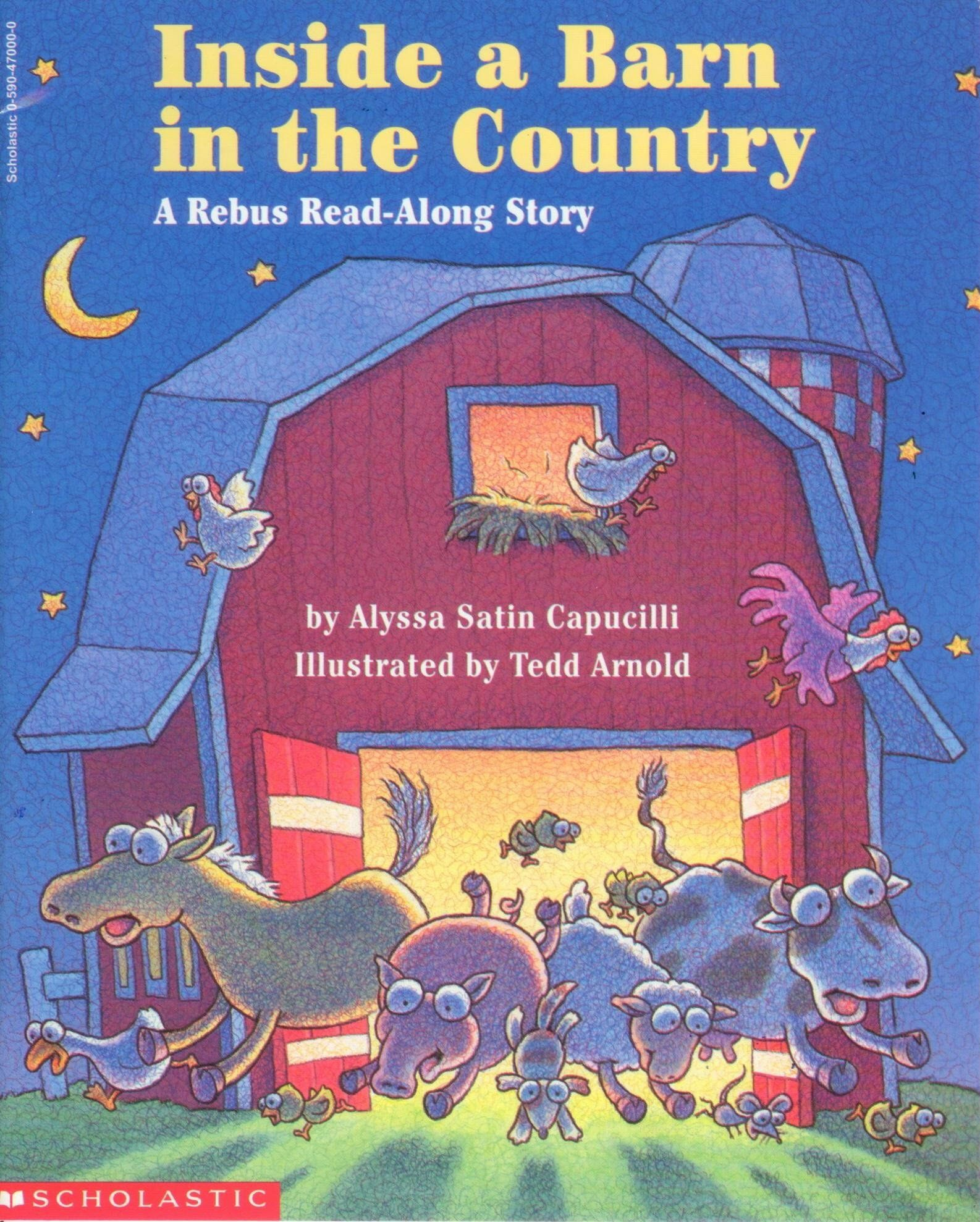 Inside A Barn In The Country A Rebus Read Along Story