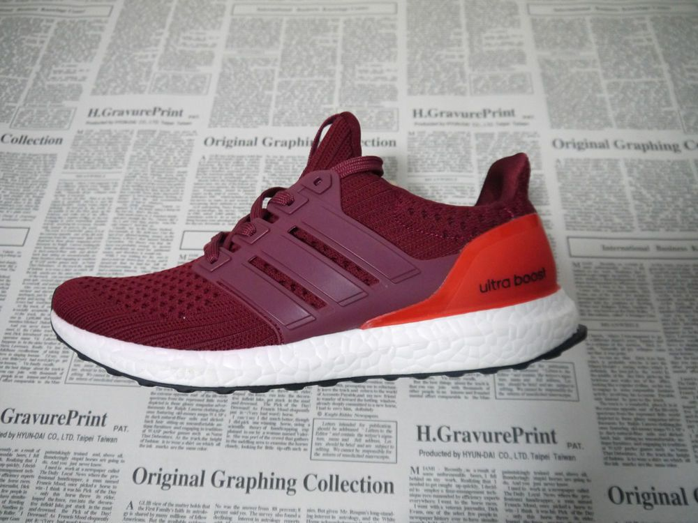 b1e5ed78d71bb Running Size 8 Adidas Ultra Boost 4.0 Energy Red White Men s Shoes  fashion   clothing  shoes  accessories  mensshoes  athleticshoes (ebay link)