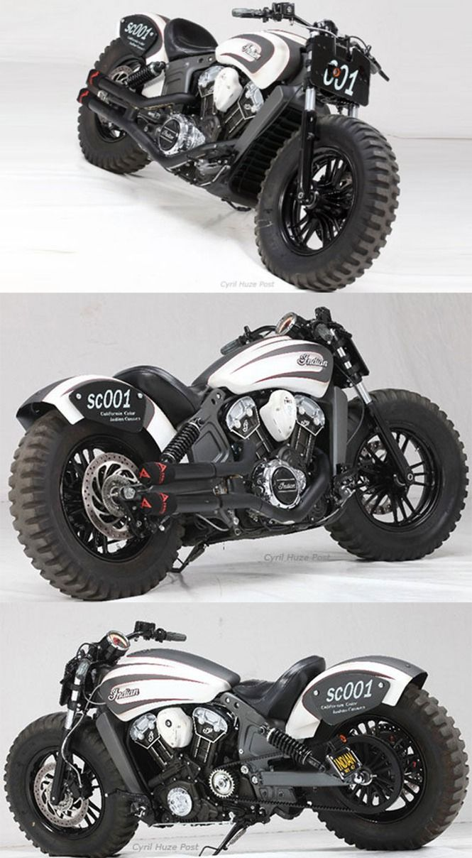 Indian Scout A Customized Journey From Cruiser To Off Roader