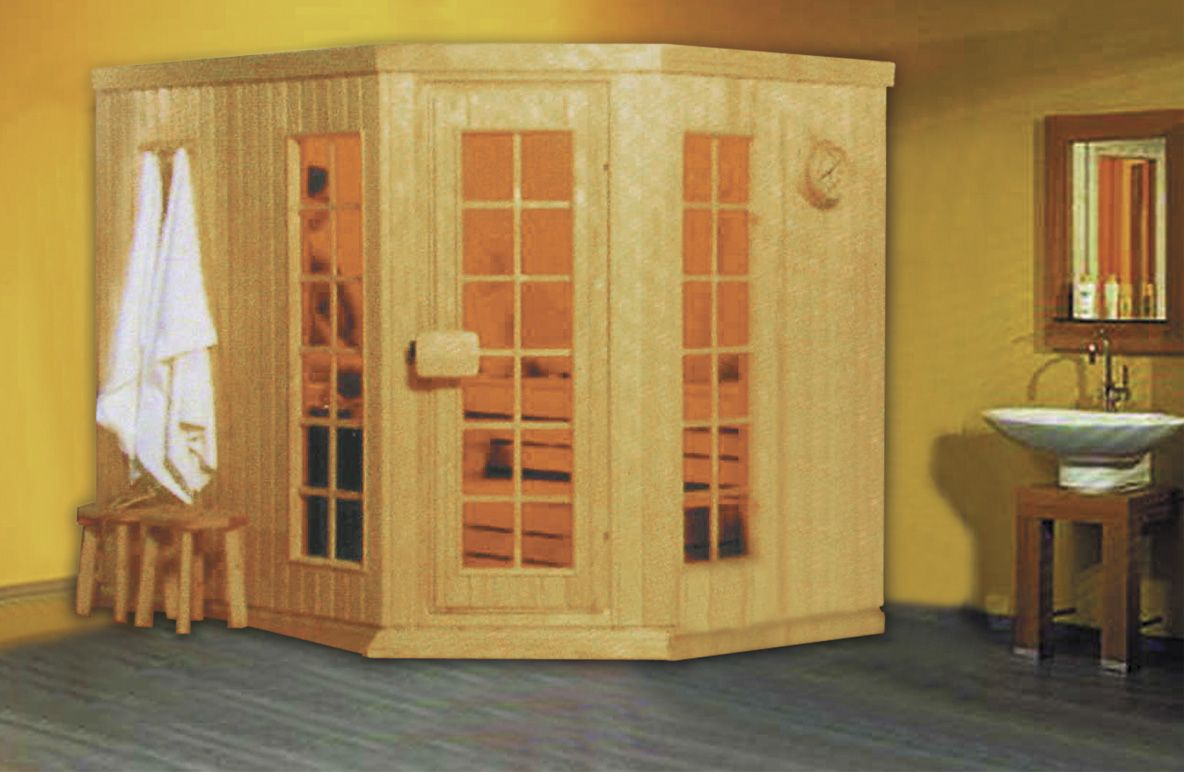 Monalisa M6001 traditional sauna house European style sauna room
