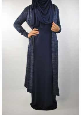 0fc251f164fa Robe hiver Camélya   Hijab fashion   Pinterest   Robe, Robe Longue ...