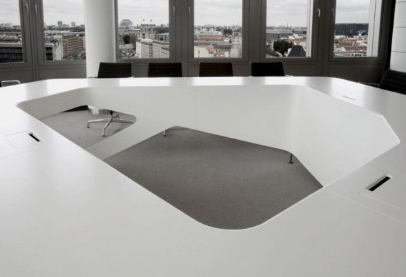 Ernst & Young Boardroom Conference Table by KINZO
