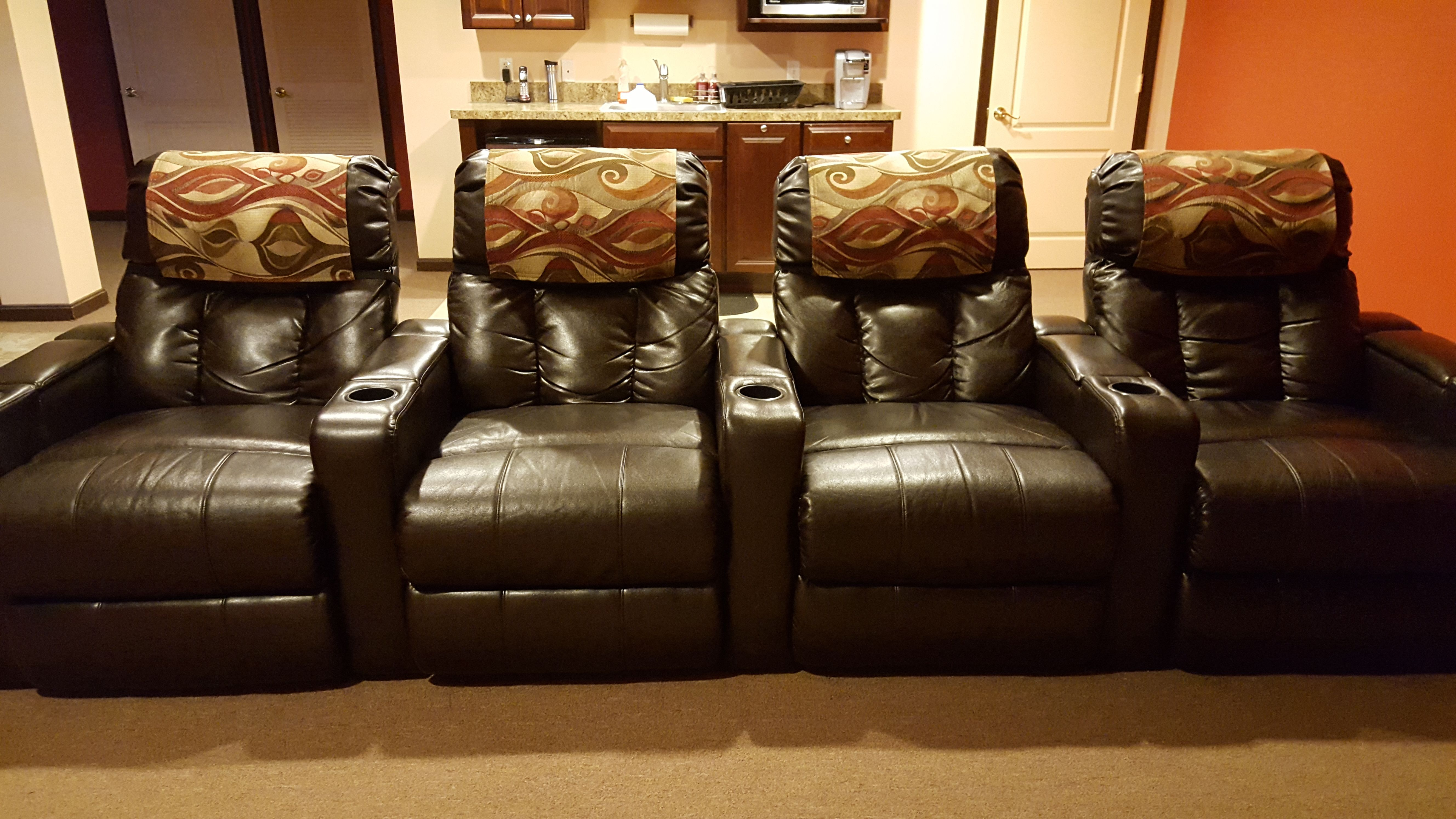 Stitch N Art By Michelle Did It Again! Rich Spice Chair Covers