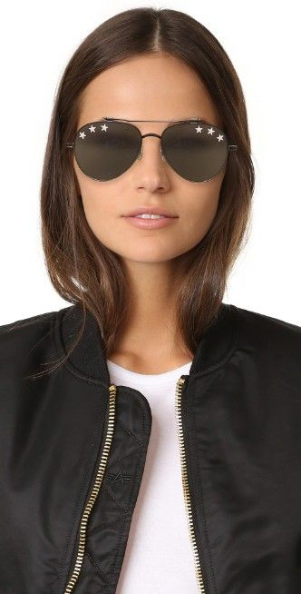 b1cd7746bf3 Givenchy Stars Aviator Sunglasses