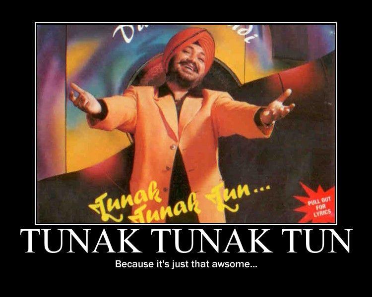 Pin on The Making Of Tunak Tunak Tun