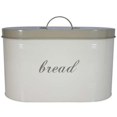 Cream Farmhouse Bread Bin Farmhouse Bread Bread Bin Bread