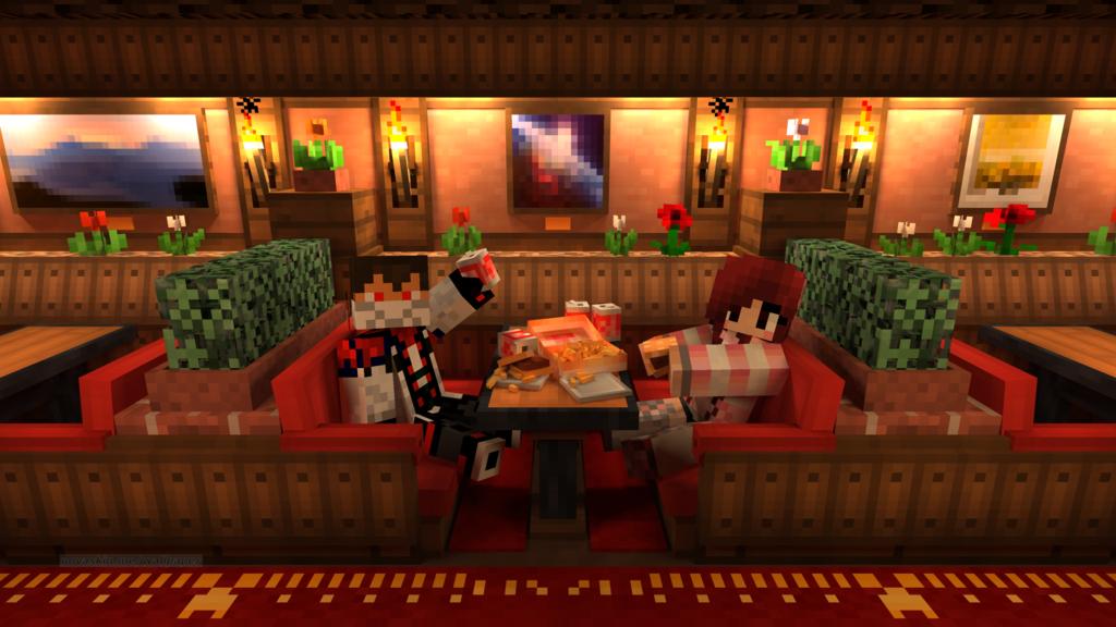 Restaurant Minecraft