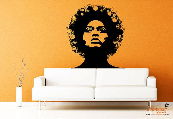 Decoration Mural Afro Chic Salon