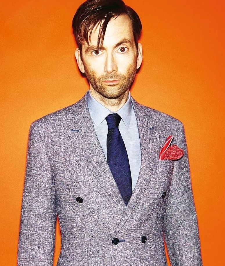 David Tennant photographed by David Titlow for The Times