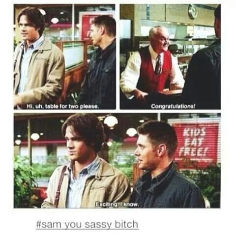 Except that it was dean !