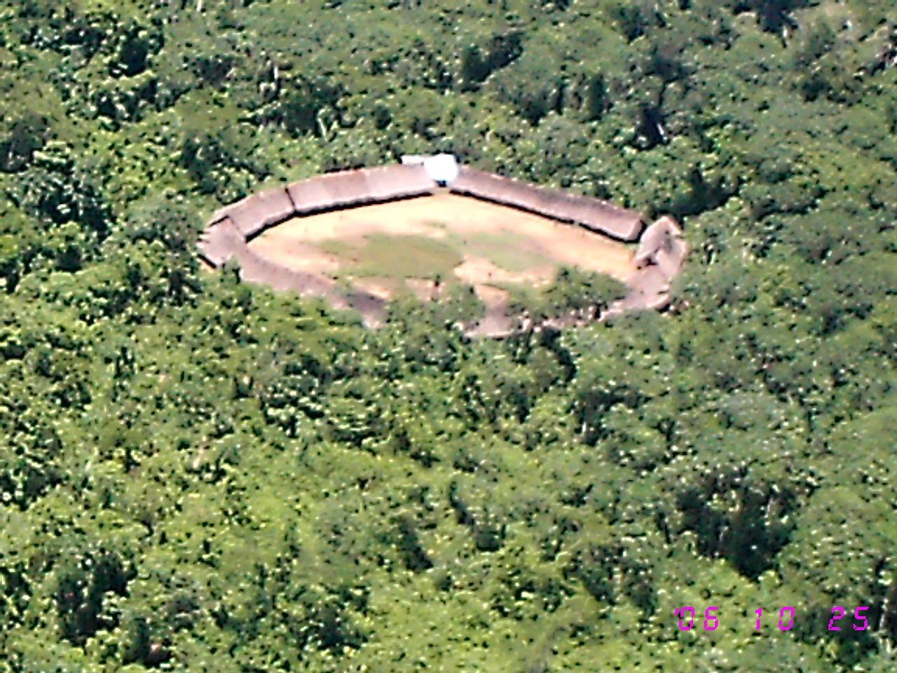 Shabono casa de indigenas yanomami amazonas for Amazon casa