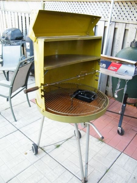Vintage Lime Green Charcoal Grill Bbq Pinterest