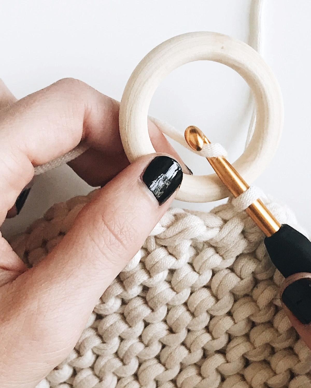 Photo of Knit + Crochet Coaster