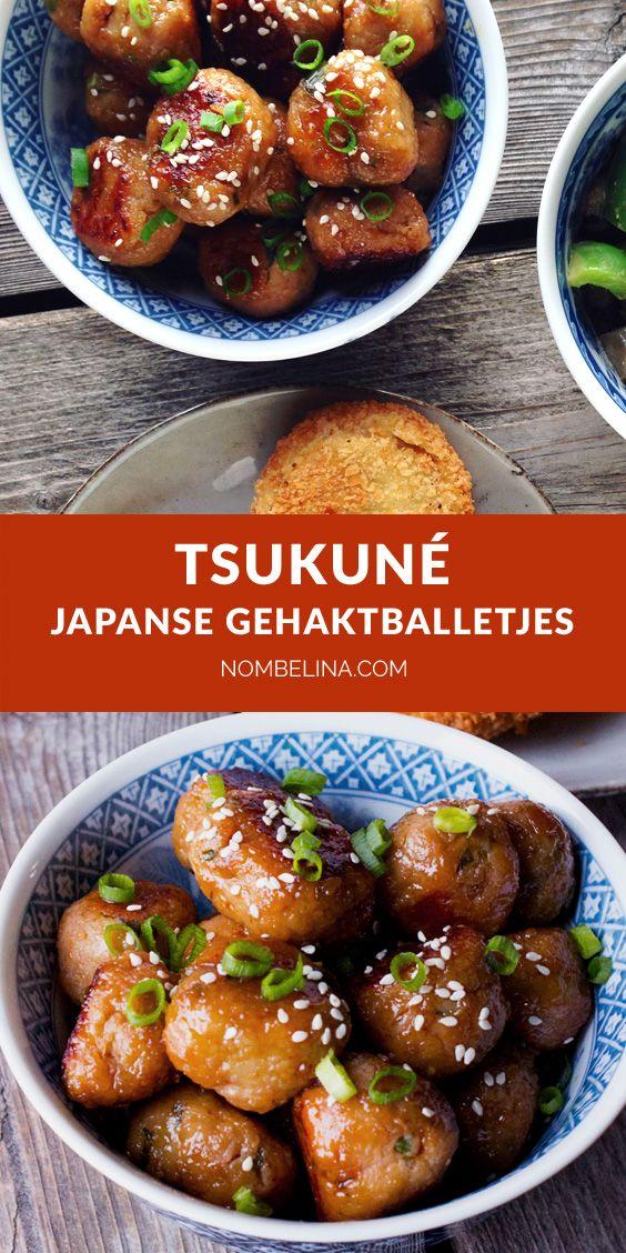 Tsukune Japanse Gehaktballetjes Nombelina Com Recept In 2020 Japanse Gerechten Japanse Recepten Bonensoep Recepten