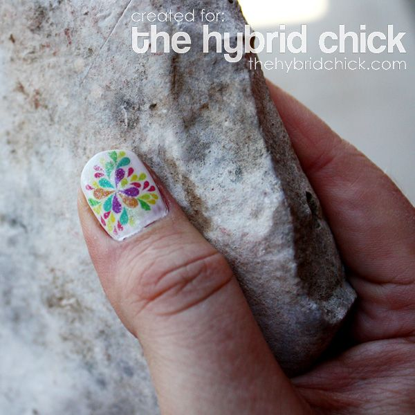 The Digi Nails – A Hybrid Manicure | Rubbing alcohol, Scrapbook ...