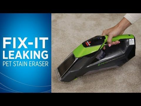 If Your Bissell Pet Stain Eraser Cordless Portable Carpet