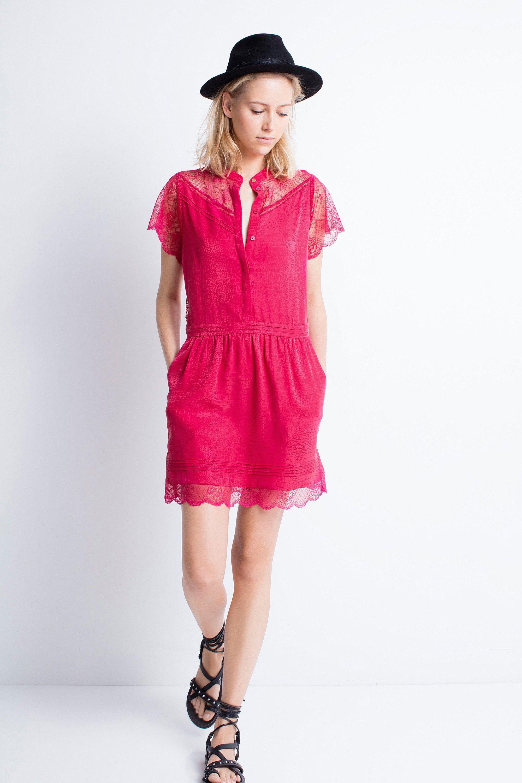 5c3dae1880d Robe dentelle zadig et voltaire - Idéesvêtement femme
