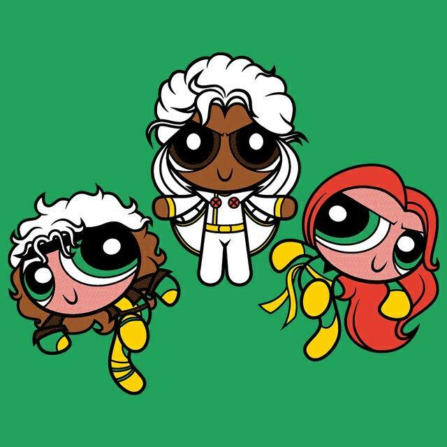 Powerpuff Girls Marvel Universe