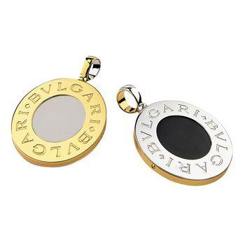 bvlgari bvlgari pendant yellow gold cn852567