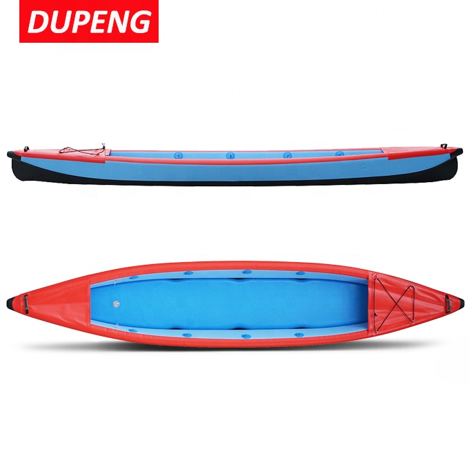 Wholesale 420cm 340cm Arrow 2 Person Inflatable Canoe Fishing