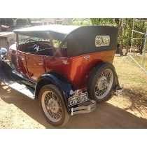 Ford 1929 Original - Placa Preta