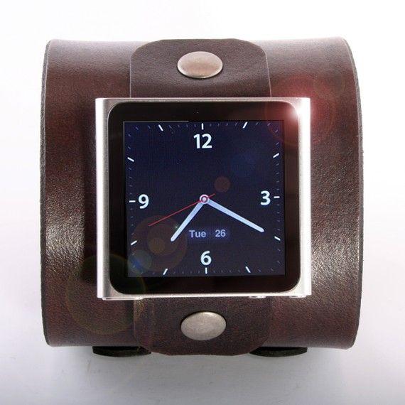 Ipod Nano 6th Gen Cuff Super Modern Any Color Clock Watch Free Personalization Ropa