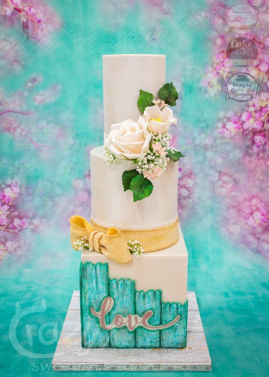 Wedding Cake Hochzeitstorte Vintage Decorated Cakes Cupcakes