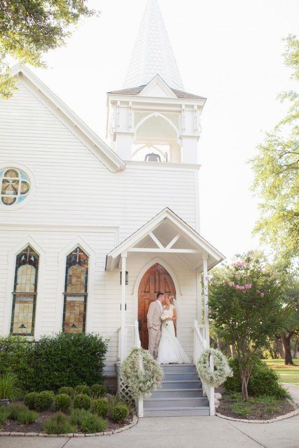 Texas Ranch Wedding At Tenroc Ranch | Country church ...