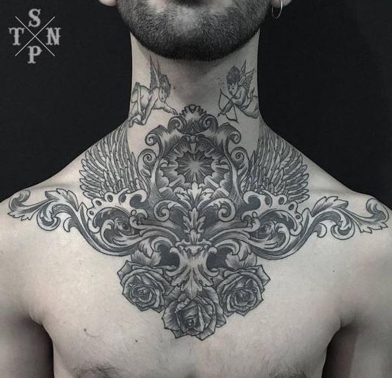 Tattoos For Men Tattoos For Guys Tattoos Baroque Tattoo