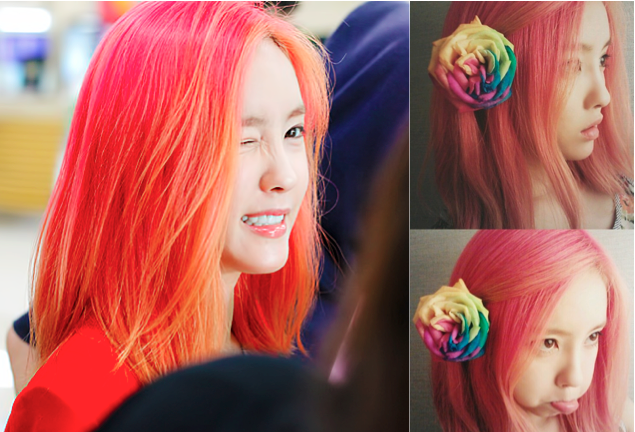 7 K Pop Ladies Who Have A Flair For Colorful Hair Hair Color Hair Color Crazy Pink Hair
